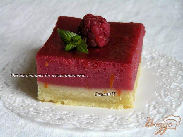 Рецепт Лимонно-малиновое пирожное