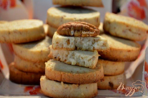 Рецепт Ореховое печенье на сливочном сыре