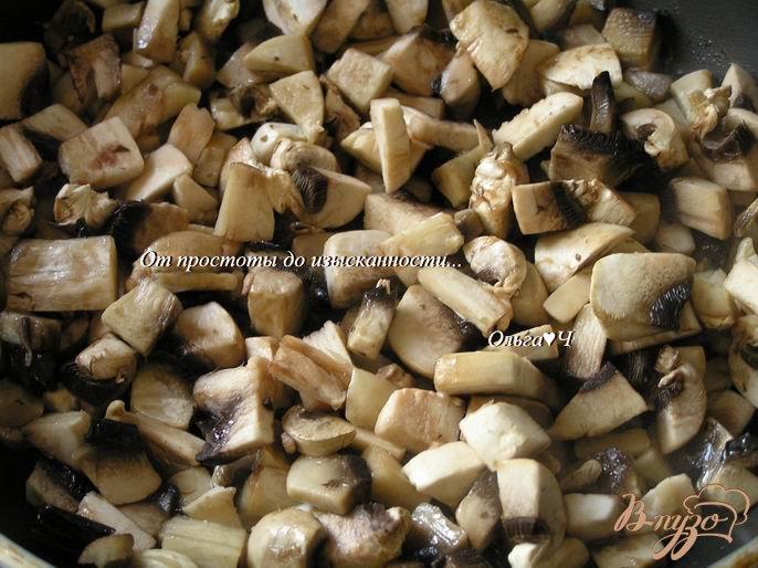 Фото приготовление рецепта: Мясной террин с грибами, овощами и овсяными хлопьями шаг №1