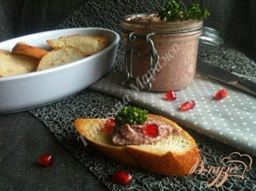 Паштет из красной фасоли с грецкими орехами