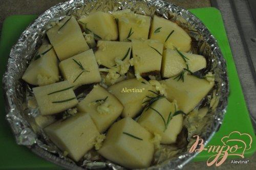 Ужин с корейкой и картофелем
