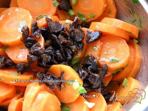 Салат из бланшированной моркови