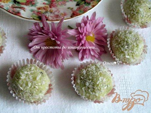 Низкокалорийные конфеты с абрикосовым конфитюром