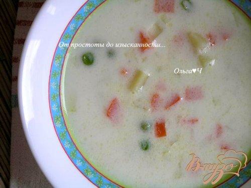 Молочно-овощной суп