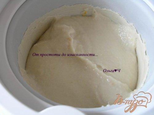 Кокосовое мороженое из фасоли