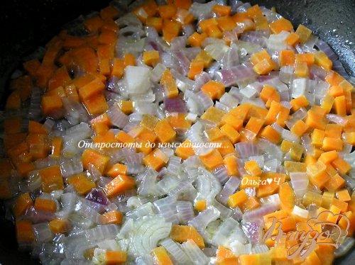 Зразы с морковно-тыквенной начинкой (на парУ)