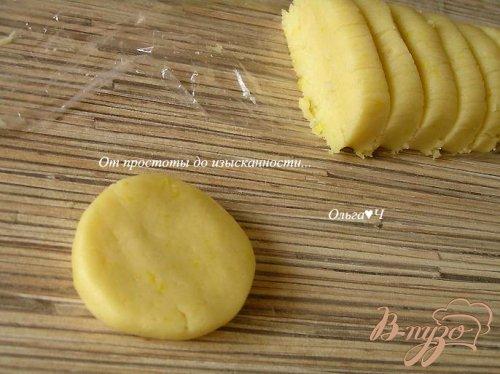 Французское лимонное печенье