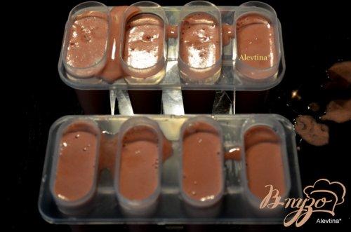 Мороженое с ягодным желе