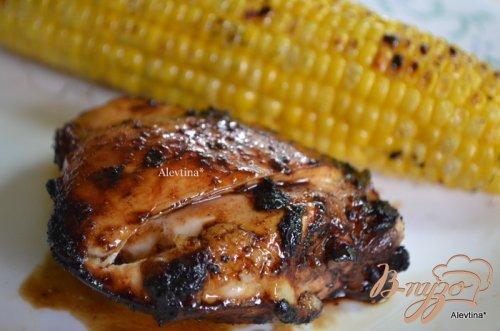 Курица в бальзамическом соусе и меласса