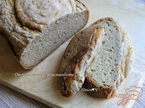 Ржано-кукурузный хлеб с овсяными хлопьями