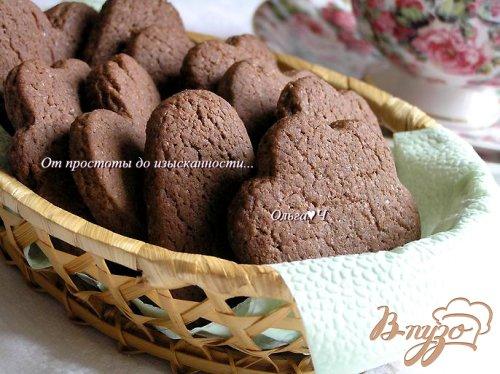 Печенье на шоколадном масле с корицей и апельсиновой цедрой