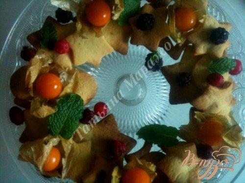 Рождественский веночек к чаю