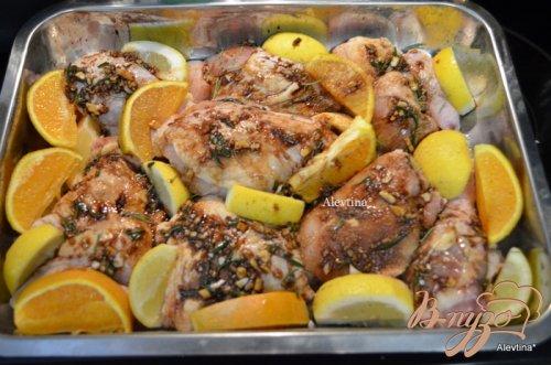 Курица в цитрусовом маринаде