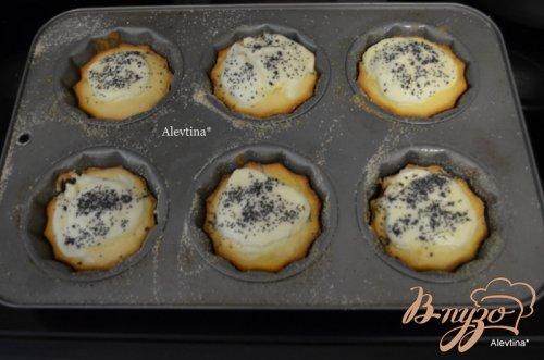 Кексы со сливочным сыром и маком