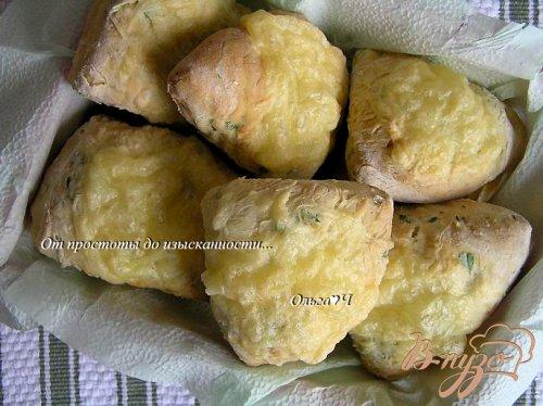 Сырный содовый хлеб
