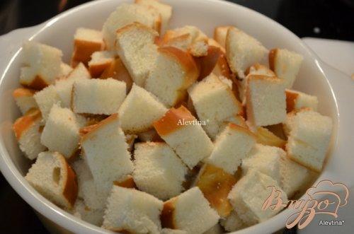 Ягодный хлебный пудинг с соусом