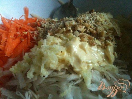 Салат с морковью и топинамбуром