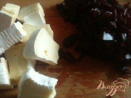 Ньокки со свекольно-сырным соусом