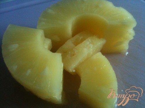 Говяжьи тефтели в ананасовой глазури