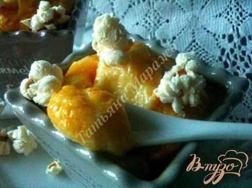 Десертный мусс из кукурузы