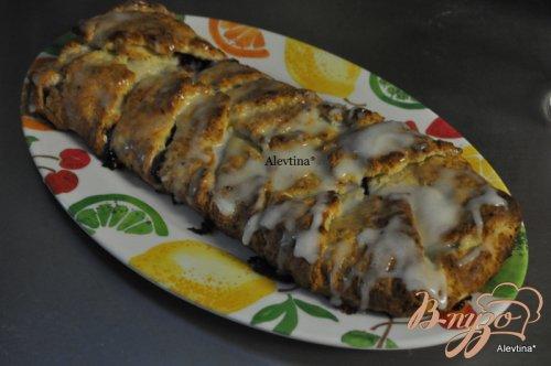 Десертный хлеб к завтраку с начинкой