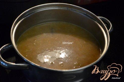 Говяжья корейка с овощной подливой