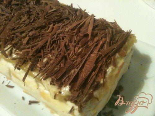 Шоколадные пирожные с начинкой из манго