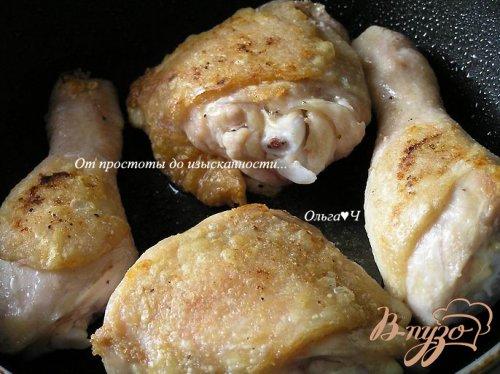 Курица с картофелем в сливочно-горчичном соусе