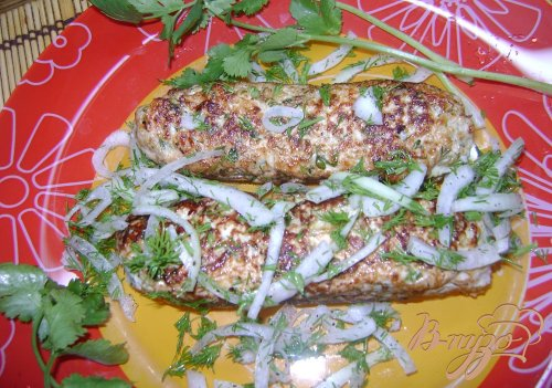 Люля-кебабы на сковородке