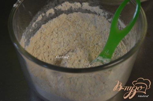 Печенье с  яблочной кислинкой и глазурью