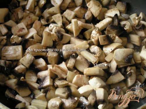 Мясной террин с грибами, овощами и овсяными хлопьями