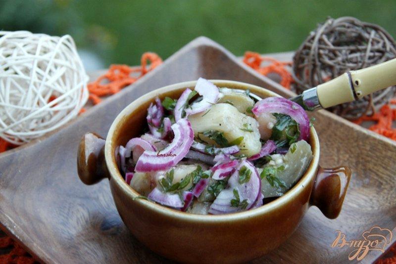 Фото приготовление рецепта: Салат из баклажанов «Баку» (вариант) шаг №5
