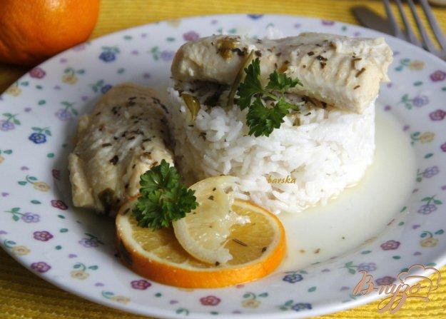 Рецепт Рыба с цитрусовыми
