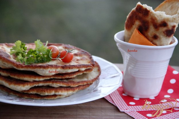 фото рецепта: Лепёшки с мясом
