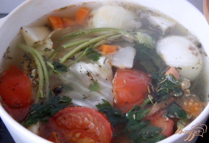 Фото приготовление рецепта: Китайский суп из томатов шаг №1