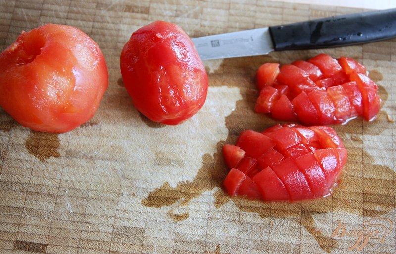 Фото приготовление рецепта: Китайский суп из томатов шаг №2