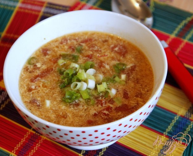 Рецепт Китайский суп из томатов