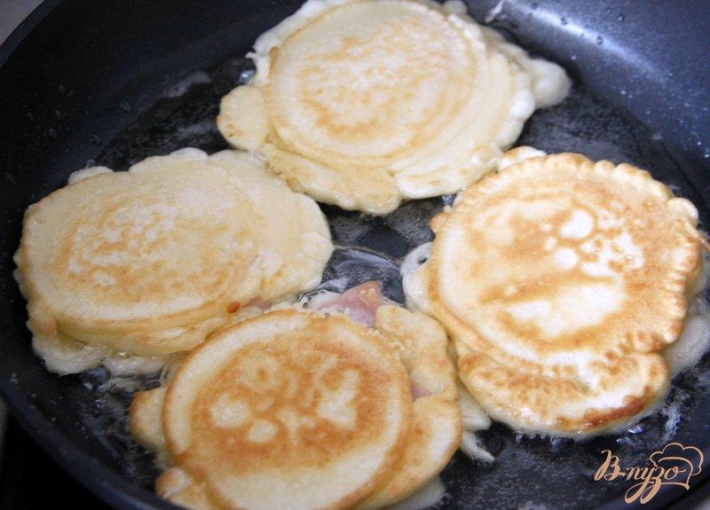 Фото приготовление рецепта: Оладьи а-ля