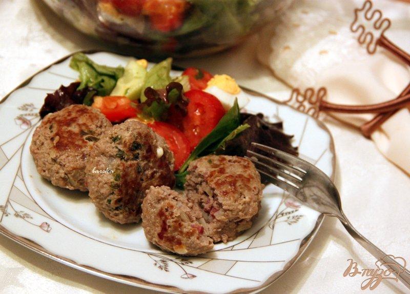 Фото приготовление рецепта: Котлеты по-сербски