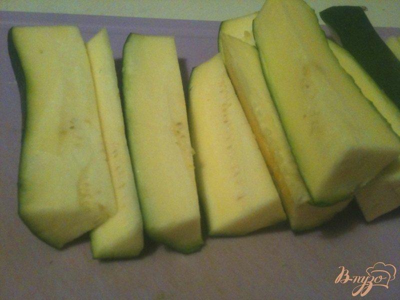 Фото приготовление рецепта: Гарнир из картофеля и цукини шаг №2