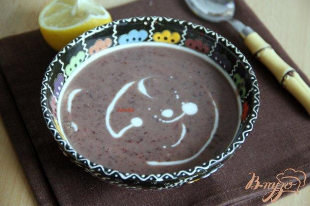 Рецепт Фасолевый пряный суп-пюре