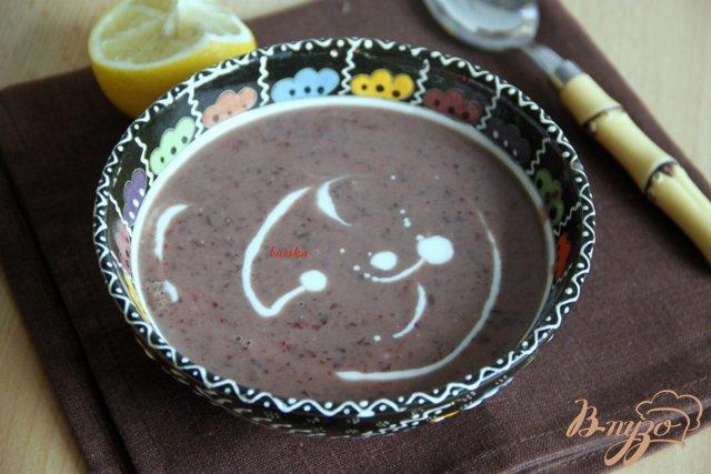 Фото приготовление рецепта: Фасолевый пряный суп-пюре шаг №5