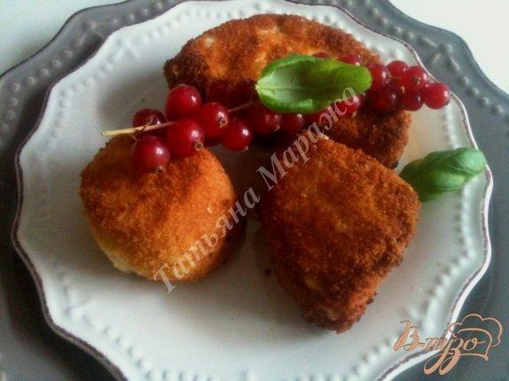 Рецепт Ассорти из жареного сыра