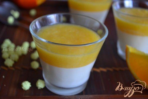 Рецепт Сливочно-апельсиновая панна котта