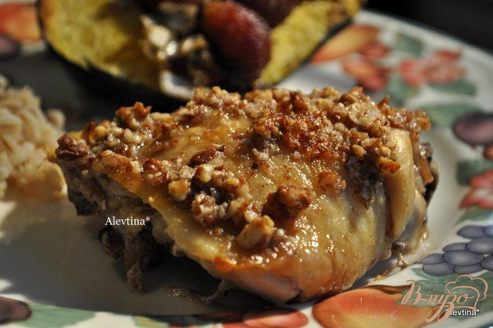 Фото приготовление рецепта: Куриные бедрышки в сладкой глазури шаг №4