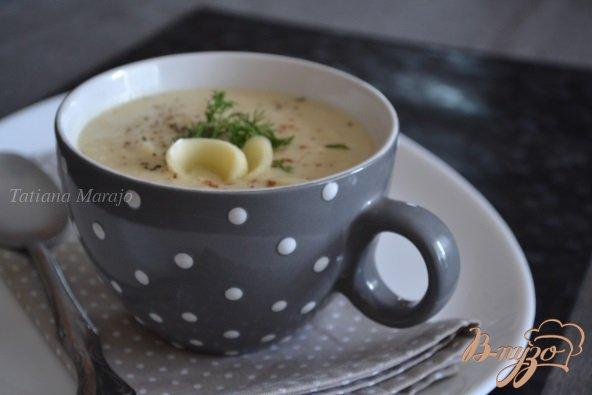 фото рецепта: Суп-пюре из корневого сельдерея с сыром