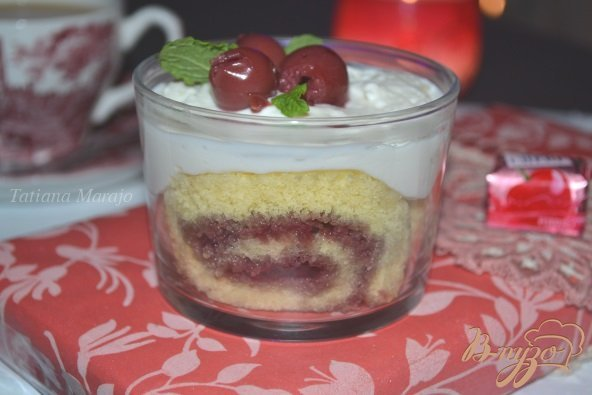 Рецепт Десерт с вишней