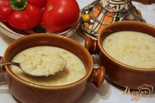 Рецепт Бедуинский йогуртовый суп
