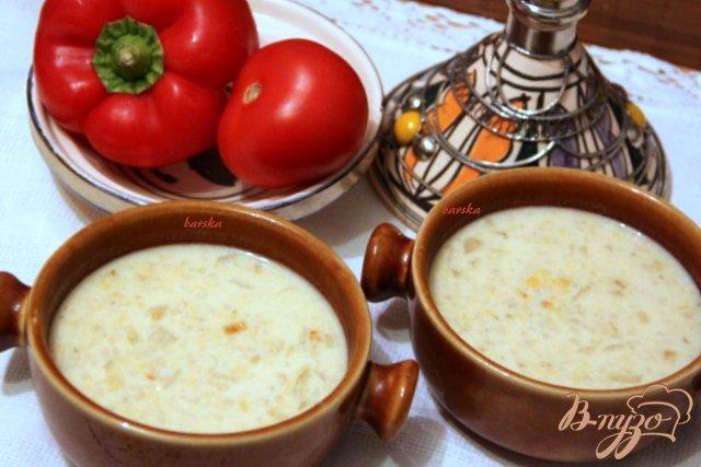 Фото приготовление рецепта: Бедуинский йогуртовый суп шаг №4