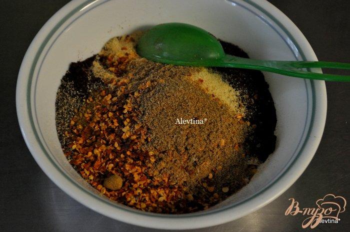 Фото приготовление рецепта: Индюшка запеченная в специях шаг №2